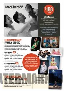 Macpherson Studio offers studio photography packages for all budgets