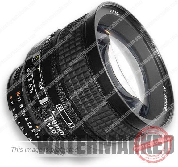 Nikon 85mm f/1.4D AF Nikkor Lens FX Mount