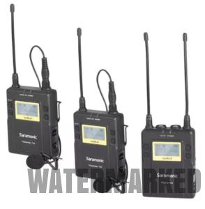 Saramonic Uwmic9 2 Transmitters + 1 Receiver