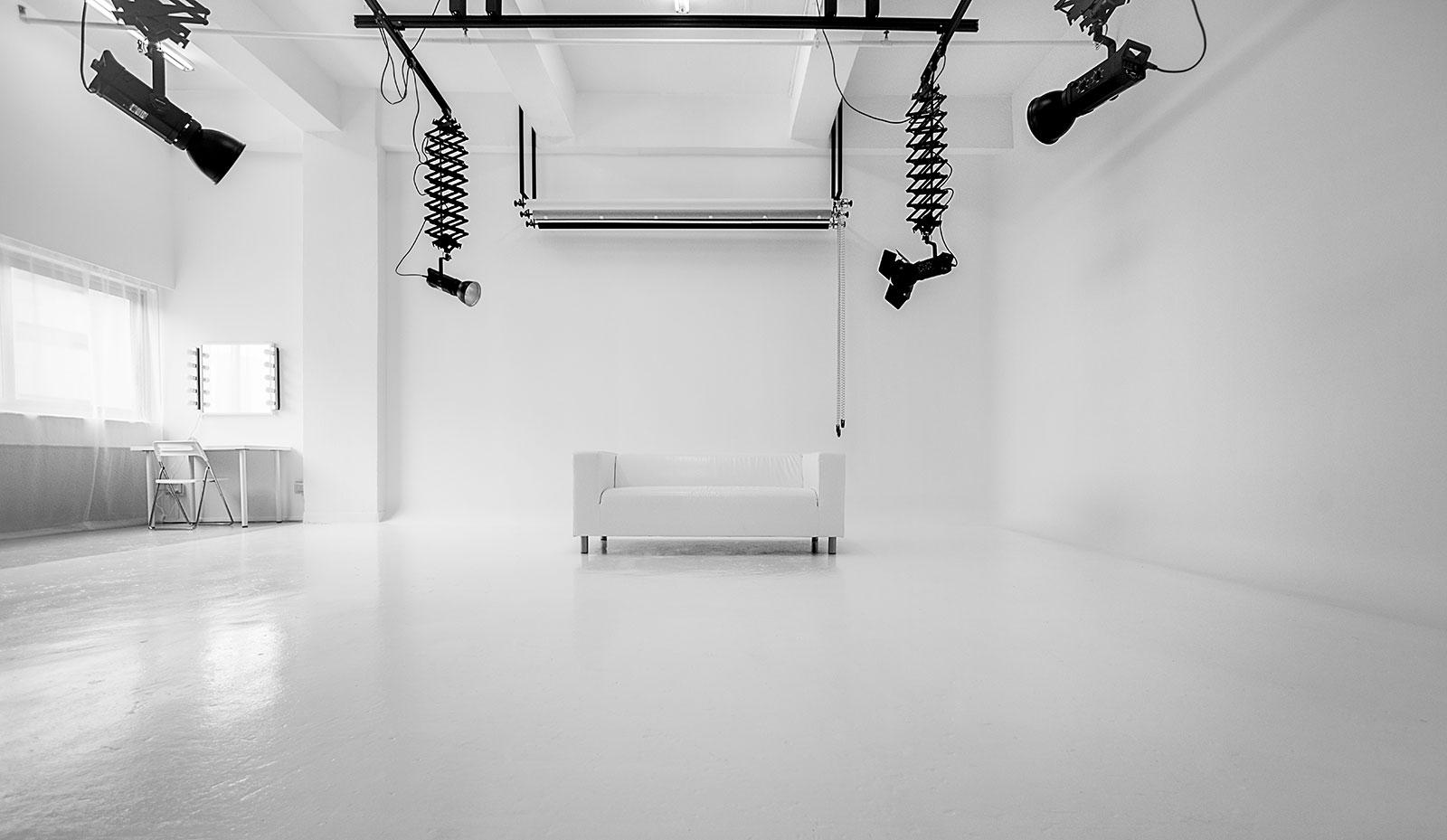 macpherson studio rental large white photo studio for rent in