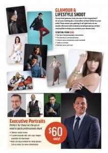 Glamour & Lifestyle, Executive Portraits at Macpherson Studio.